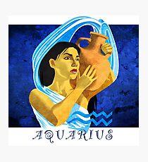 Aquarius Photographic Print