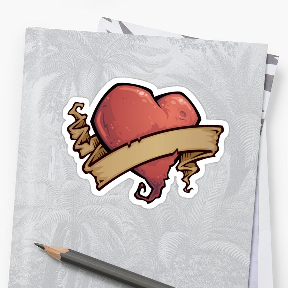 Tattoo Heart by fizzgig