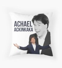 Michael McIntrye - Showtime - Achael Ackinkaka Throw Pillow