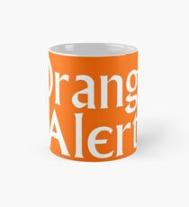 Orange Warnung Tasse (Standard)