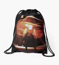 Fire  Show I Drawstring Bag