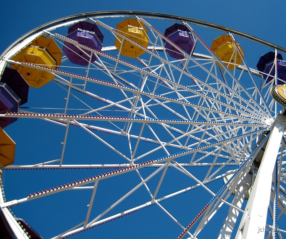 ferris wheel by jchatoff