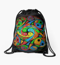 Mochila saco Celtic Stained Glass Spiral
