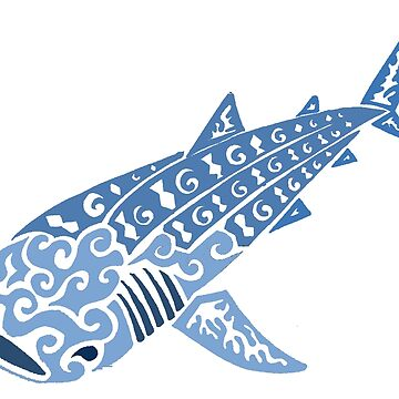 Whale Shark Colored  by KitayamaDesigns