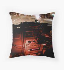Cruising through Myrtleford Throw Pillow