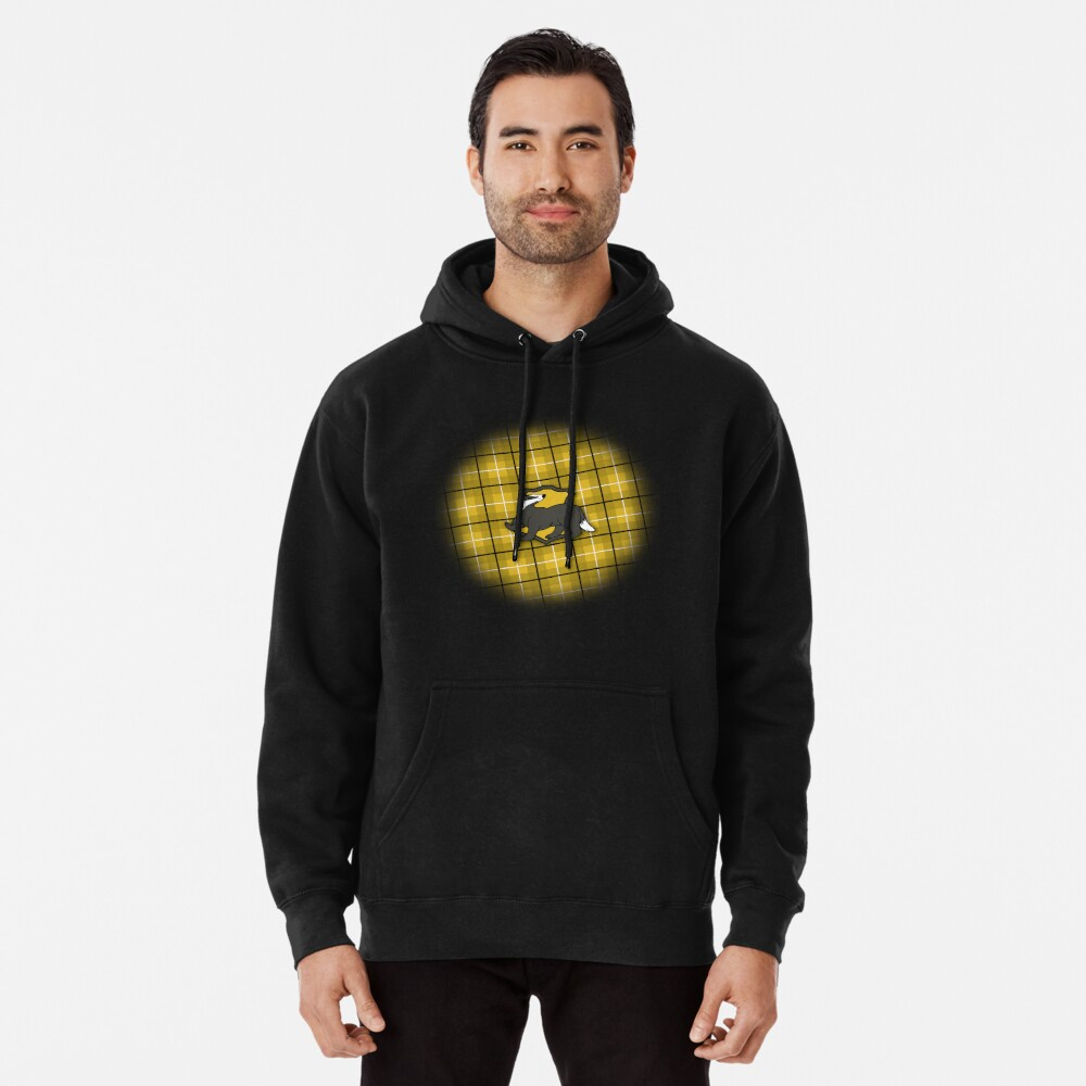 Badger House Plaid Pullover Hoodie