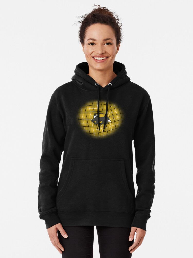 Alternate view of Badger House Plaid Pullover Hoodie