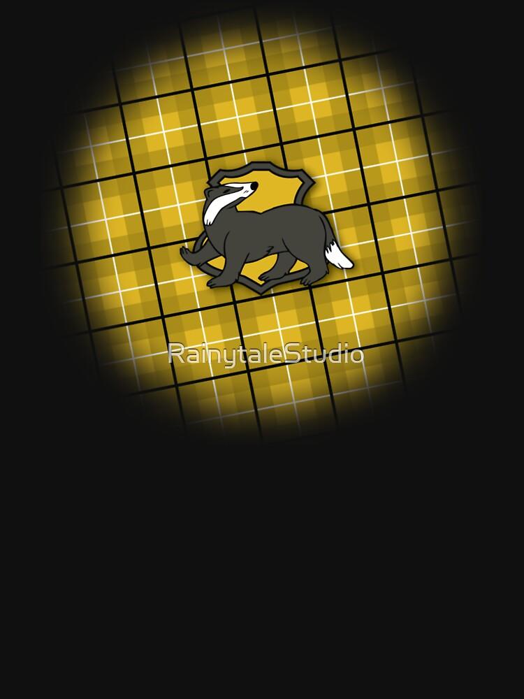 Badger House Plaid by RainytaleStudio