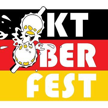 Oktoberfest German Beer Mugs 1 by oberdoofus