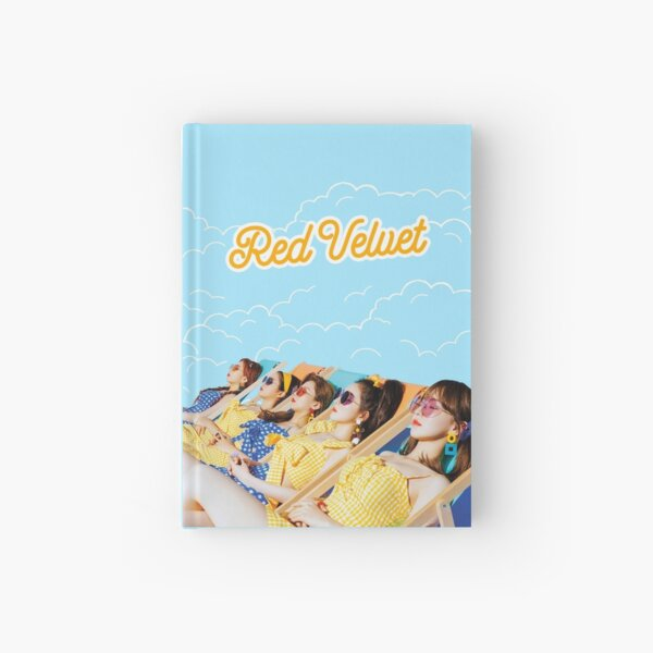 Red Velvet Hardcover Journal