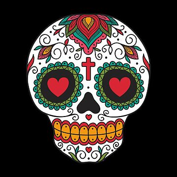 Sugar Skull Day Of The Dead  by goodspy