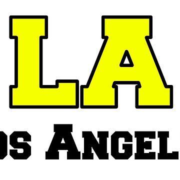 LA Los Angeles by Matucho