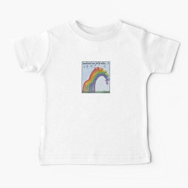Somewhere over the giraffes Baby T-Shirt