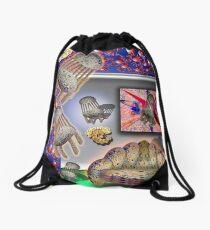 Little Miss Muffet's Tuffet Drawstring Bag