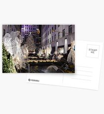 Christmas in NYC Postcards