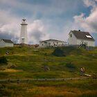 Cape Spear Light House by Yukondick