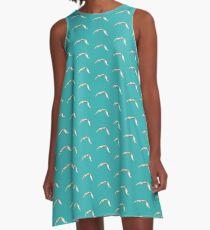 Crab Leg A-Line Dress