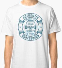 Skateboarding logo in retro style Classic T-Shirt