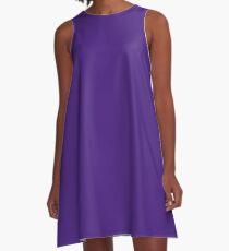 Royal Purple Gameday Dress A-Line Dress