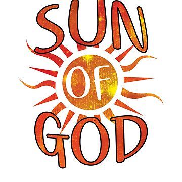 Sun Of God Astro Theology Shirts And More by philsgiftshop