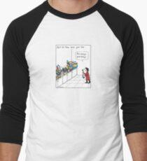 Disheys Men's Baseball ¾ T-Shirt