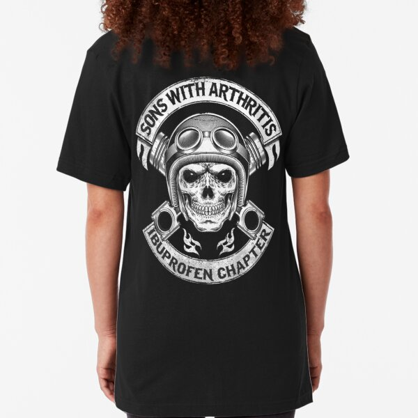 Sons With Arthritis Ibuprofen Chapter T-shirt Slim Fit T-Shirt