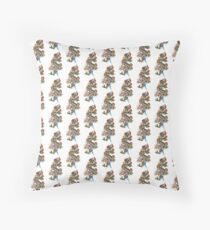 Dragon Tat Throw Pillow