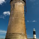Spurn Point Lighthouses by Jon Tait