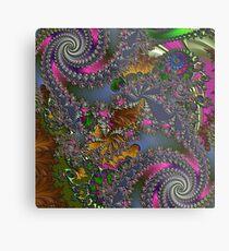 D1G1TAL-M00DZ ~ GALLIMAUFRY ~ Spring Rain by tasmanianartist Metal Print