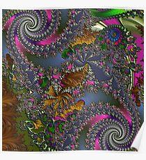 D1G1TAL-M00DZ ~ GALLIMAUFRY ~ Spring Rain by tasmanianartist Poster