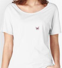 Purple Butterfly  Women's Relaxed Fit T-Shirt