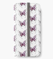 Purple Butterfly  iPhone Wallet/Case/Skin