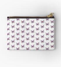 Purple Butterfly  Studio Pouch