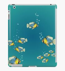 Tropical Fish Design blue Water iPad Case/Skin