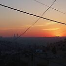 Sun Sets Over Amman.  by ayham Salameh