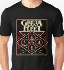 GRETA LIVE VAN 2018 NEW DATE FLEET Unisex T-Shirt