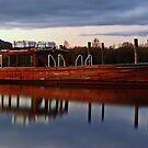 Derwent Water boats by Jon Tait
