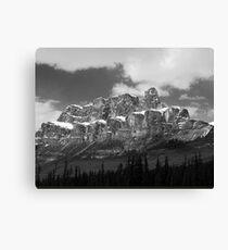 Castle Mountain ~ Banff National Park ~ Alberta Canvas Print