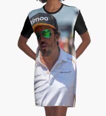 Fernando Alonso Champion Graphic T-Shirt Dress
