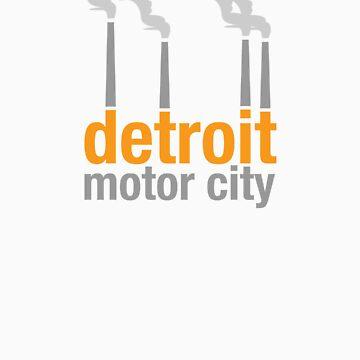 Detroit Motor City by iddude313