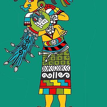 Yei Atl ihuan Chalchiuhkueye by tecuani122112