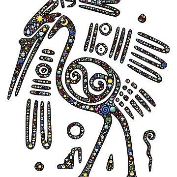 Maya Civilization Bird Art by ClothingSimple