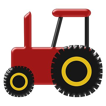 Red Tractor Design by biglnet