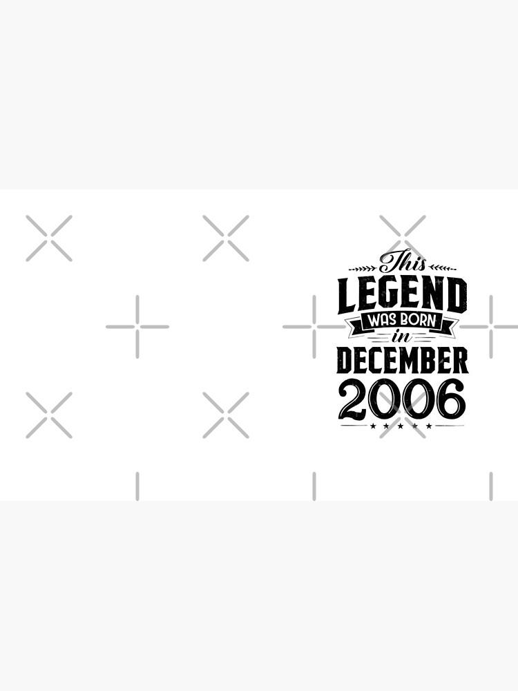 12. Geburtstag Diese Legende wurde im Dezember 2006 geboren von SpecialtyGifts