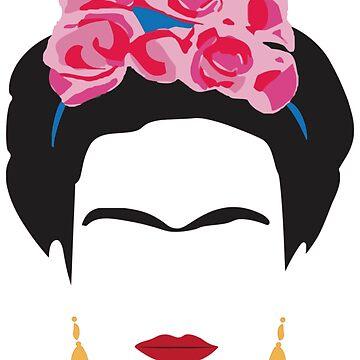 Frida Kahlo by BohoFruits