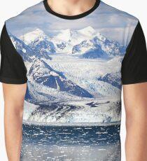 Fjords, Glacier, Kenai Fjords National Park, Alaska Graphic T-Shirt