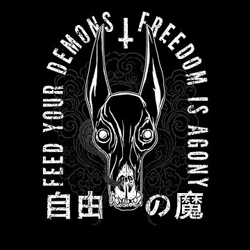 Freedom Is Agony, black by Krobilad