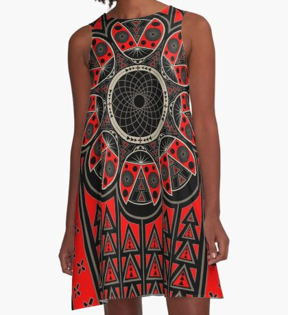 Make A Wish A-Line Dress
