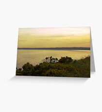 CALM SEA Greeting Card