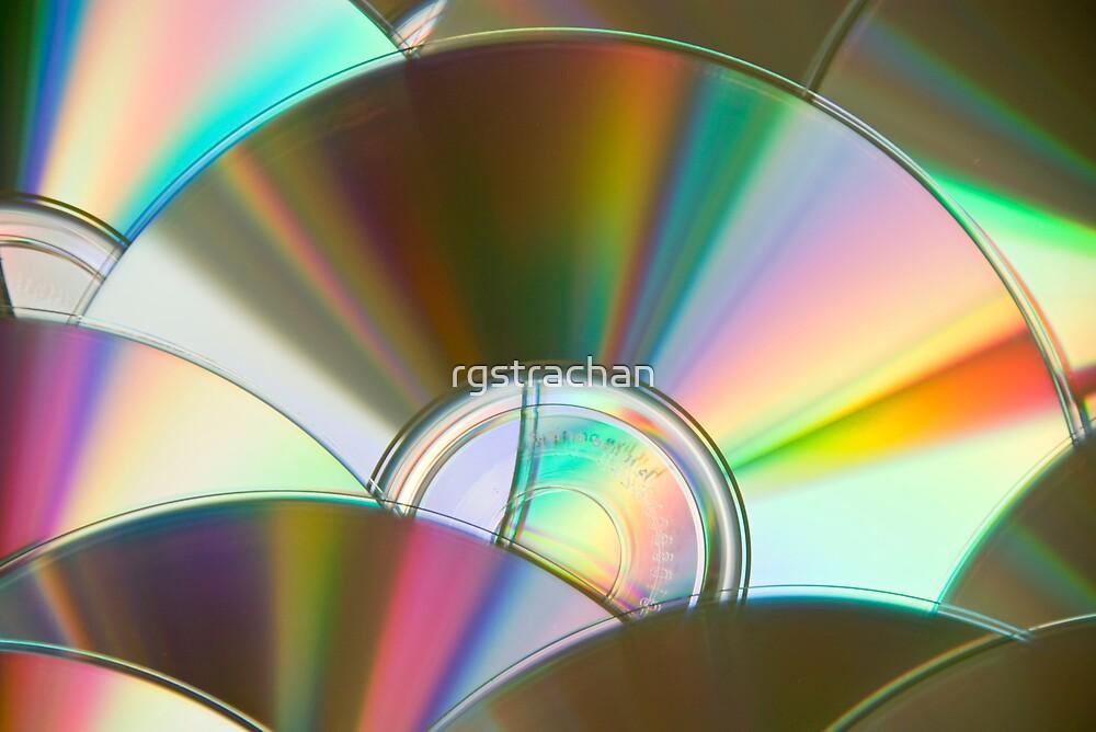 Rainbow CDs by rgstrachan